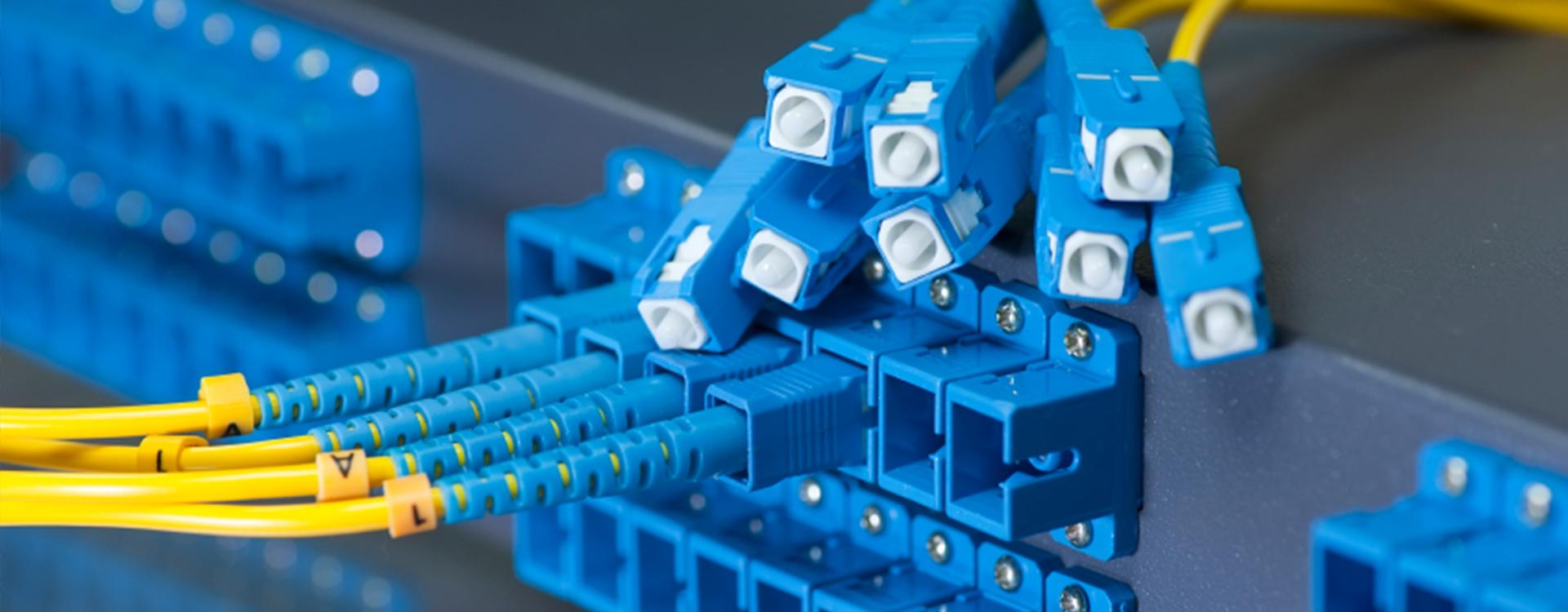 Installation d'une fibre optique pour entreprise par Profibre