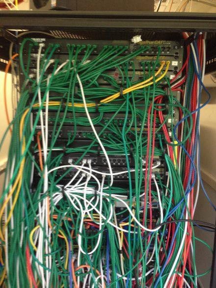 Réalisation d'un câblage pour professionnels