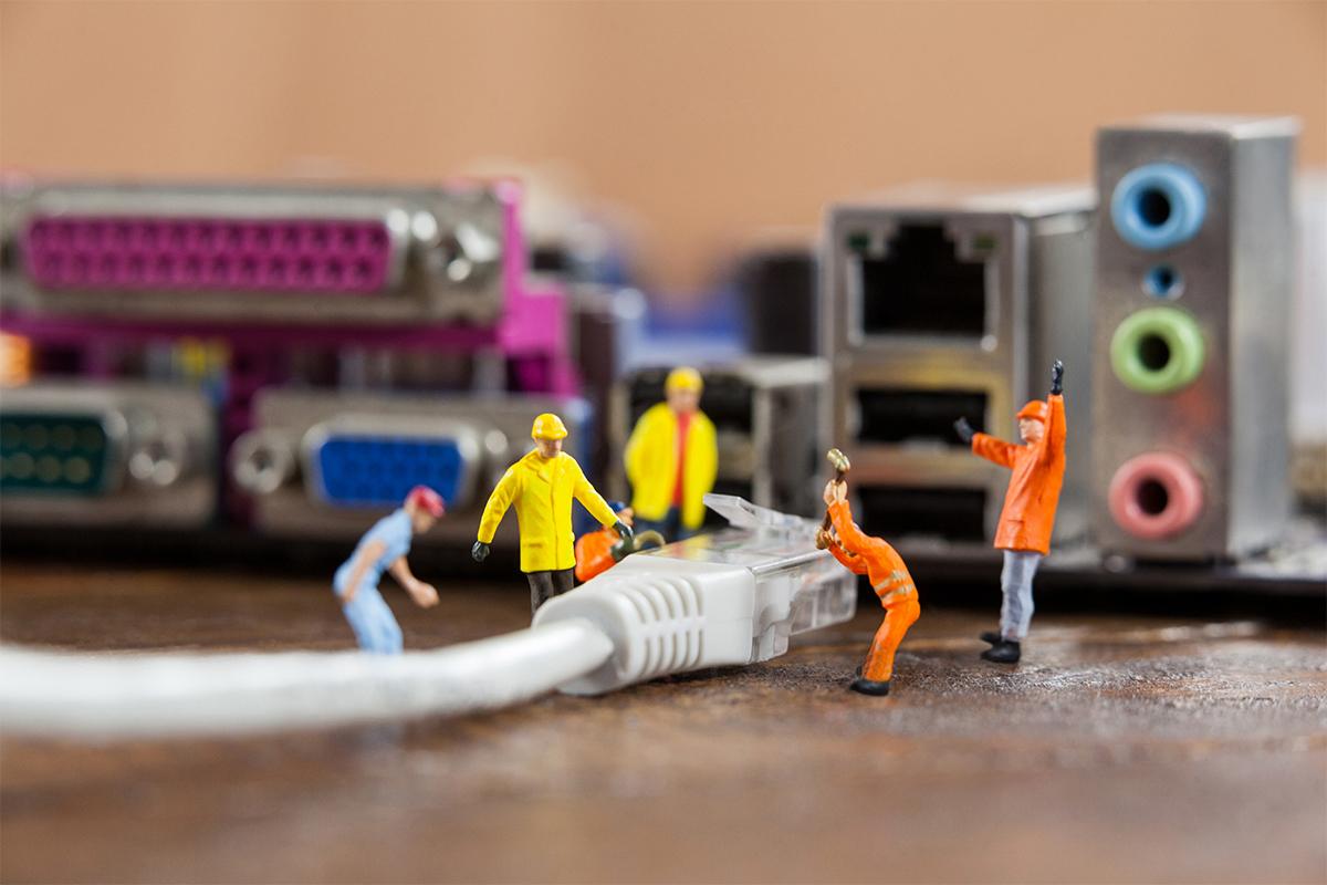 Installateur – câblage réseau structuré